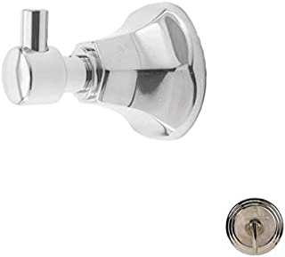 Newport Brass 24-12 Metropole Single Robe Hook, Polished Nickel