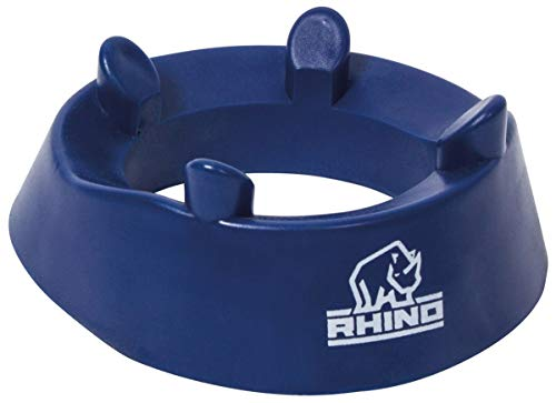RHINO RUGBY Fixed Height Kicking Tee | 4 Prong Hold for Accurate Kicks | Rugby Equipment | Accessories | Kick Off Tee