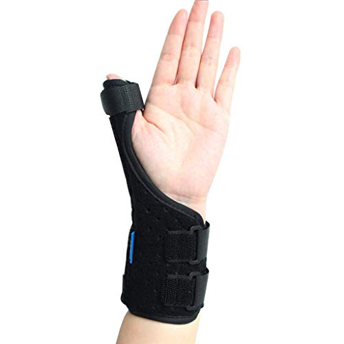 Thumb Splint and Wrist Support Brace,Best for Pain Relief, Arthritis,Tenosynovitis & Carpal Tunnel Splint, Fits Right and Left Hand