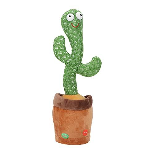KASD Cactus Danzante, Giocattolo di Cactus Canta con Un clic di Controllo per Oggetti di Scena per...