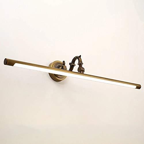 The only Good Quality Decoratie Amerikaanse koperen spiegel schijnwerper slaapkamer make-uptafel wand vrijstaand stansen badkamer toilet waterdichte spiegel kastlicht Villa