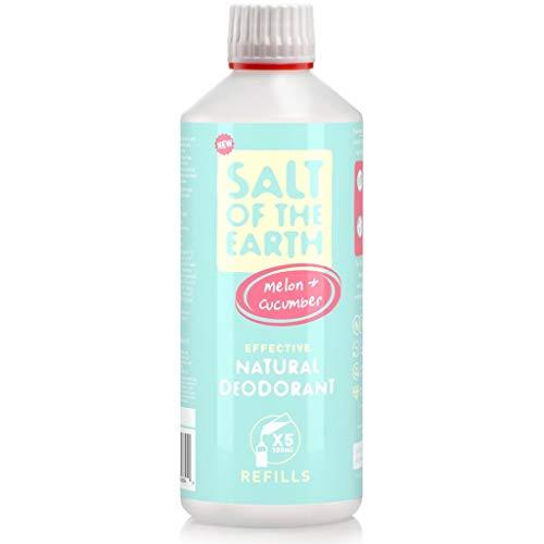 Salt of the Earth - Recambio para desodorante natural de melón y pepino (500 ml)