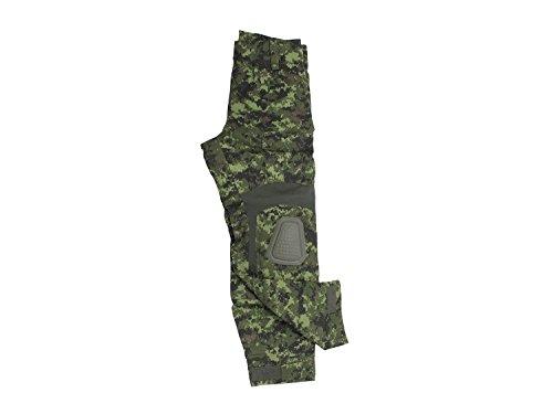 Invader Gear Predator Combat Hose, mit 10 Taschen & Knieschonern - Canadian Digital, Größe:S