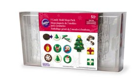 Wilton 5 Candy Mold Mega Pack