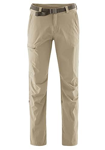 Maier Sports Nil Pantalon de randonnée Roll up 90% PA 10% EL avec Ceinture, bi-élastique, séchage Rapide et imperméable XL Kaki