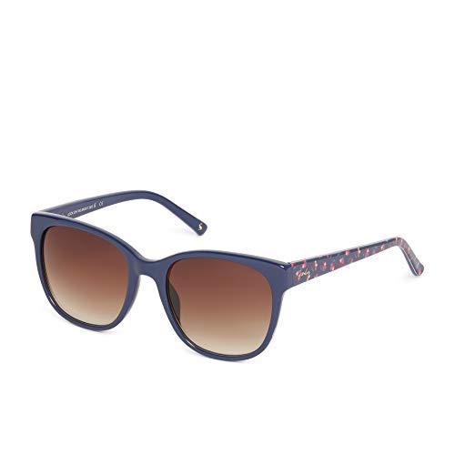 Tom Joule Joules Damen Woolacombe Sonnenbrille, Blau (Navy/Brown), 54.0