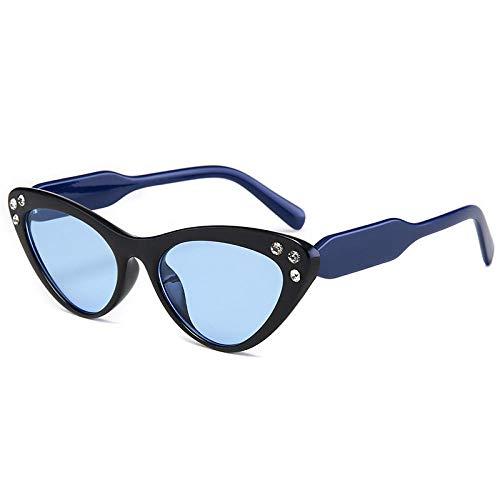 DLSM Pequeño triángulo Marco Cristal Gato Ojo Gafas de Sol Mujeres Gafas...