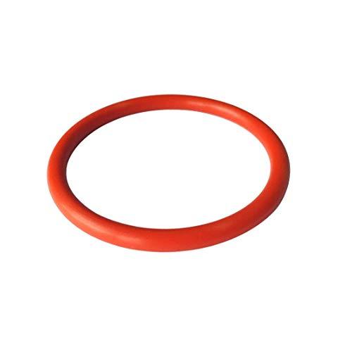 10 Pcs O-ring 50 mm x 57 mm x 3.5 mm | Silikon - SI Dichtungsringe Dichtung Gummidichtung O-ring 50x3.5-70 ShA - Dichtungen Gummiringe Set O-ringe Sortiment Dichtungssatz