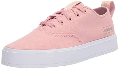 adidas Women's Broma Sneaker, Pink Spirit/Pink Spirit/Glow Orange, 11 M US
