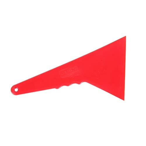 EUYBDZSW Herramientas de Mantenimiento de automóviles Identificador de Ventana de la película escobilla de Goma Tinte Herramienta Ministerio del Interior de Coche para, tamaño Mediano (Color : Red)