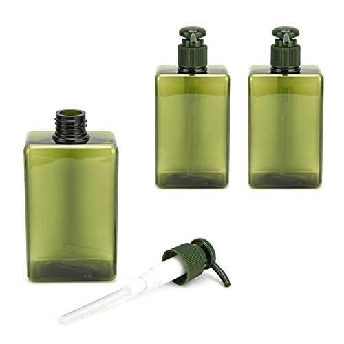 Flüssigseifenflasche, Reiseflasche Durable Auslaufsicher 3PCS 280ml zum Dosieren von Lotionen, Seifen, Shampoos, Spülungen, Duschgels und Duschgel