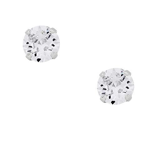 Otazu Handgefertigte Kristall Wasserfall Ohrringe Für Frauen - Swarovski Kristall Ohrstecker Für Mädchen – Luxeriöses Ohrring Set mit klaren Kristallen - Elegante Ohrstecker Für Casual Outfits