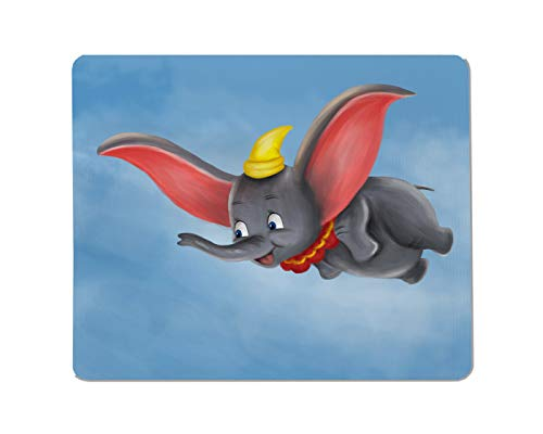 Yeuss Olifanten Rechthoekige Niet-slip Mousepad cutecartoon dier wilde dumbo olifant vlieg Gaming muismat 200mm x 240mm