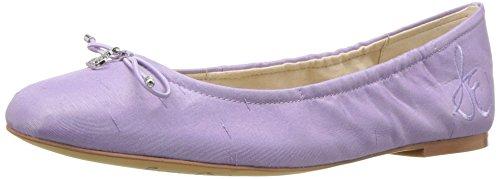 Sam Edelman Women's Felicia Ballet Flat, Lavender Silk Dupioni, 8 M US