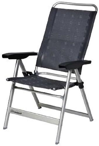 Dukdalf Chaise de camping dynamique gris