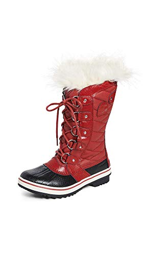 Sorel Women's Snow Boots, Red Red Dahlia, 39