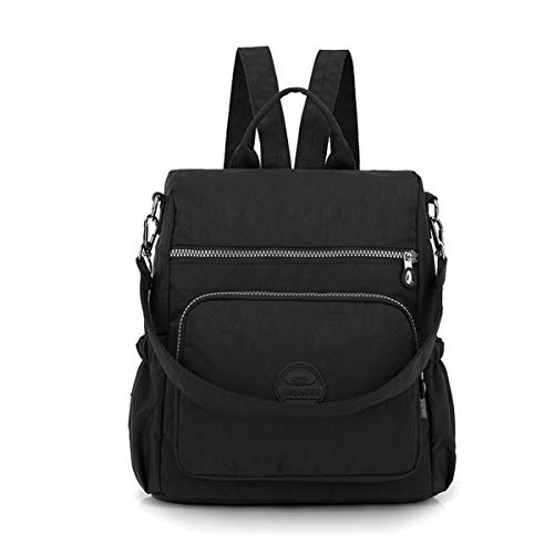 Back Packs Rucksack Women Backpack Nylon, JOSEKO Lightweight Multi-Function Handbag Girls School Bag Anti-Theft Waterproof Shoulder Bag Messenger Cross Body Casual Daypack Travel Bag