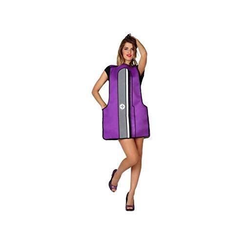 Atosa-15386 Disfraz Sacapuntas, color violeta, M-L (15386)