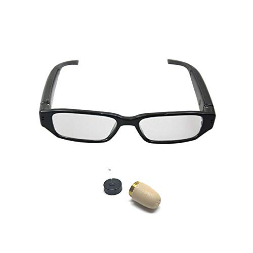 Agente007 - Auricular Espia + Gafas Inductoras Bluetooth con Microfono para Examen