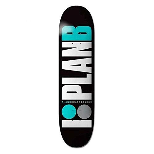 Plan B - Tavola da Skateboard Team OG Teal, 8,25'