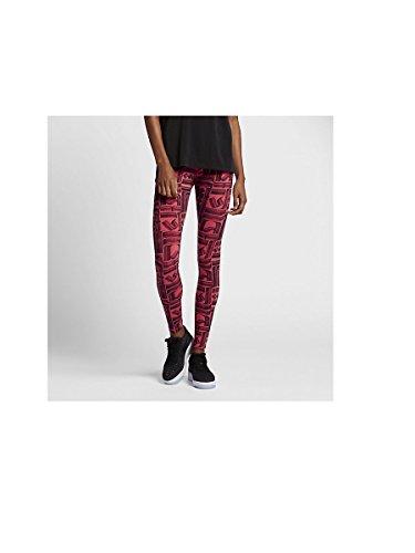 Nike W Nsw Leg-A-See Lggng Aop2 - Panty voor dames, Kleur Goud, maat M