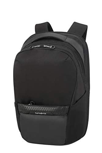 Samsonite Hexa-Packs - Laptop Backpack Medium Expandable - Work Rucksack, 48 cm, 25 Liter, Black