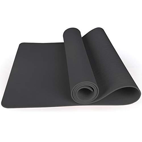YUXIAOYU Fitness-Matte 10 Mm Yoga Pilates-Fitness-Training Umweltschutz TPE-Kautschuk Mit Hohen Dichte rutschfest Nachhaltige Weiches,A