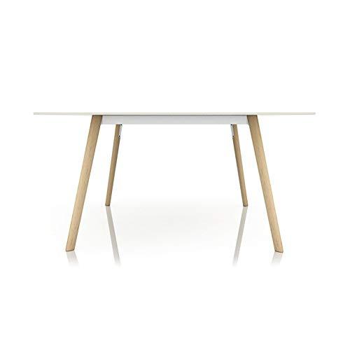 Magis Pilo Table fixe 139x139 cm Blanche