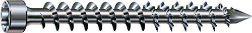 SPAX Holzbauschraube, 8,0 x 300 mm, 50 Stück, T-STAR plus, Zylinderkopf, Vollgewinde, CUT-Spitze, WIROX A3J, 1221010803005