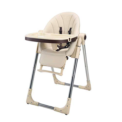 Buy High Chair for Babies & Toddlers, Foldable Highchair with Multiple Adjustable Backrest, Footrest...