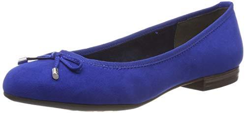 MARCO TOZZI Damen 2-2-22135-32 Geschlossene Ballerinas, Blau (Royal 838), 39 EU