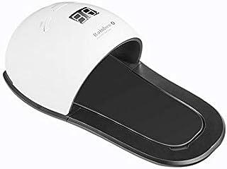 Luzoeo Lámpara Secador de Uñas LED 48W Adecuado para Manicuras de Shellac Esmalte de Uñas Curado Luz Máquina 3 modos de tiempo 30/60/99s Pantalla LCD (UE48w, Blanco)