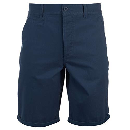 Kangol Herren Chino Shorts Freizeit Kurze Hose Baumwolle Insignia Blau 2XL
