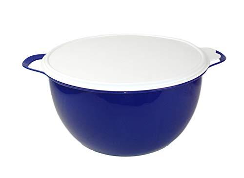 TUPPERWARE Rührschüssel Maximilian 10,0 L blau Große Schüssel Patybombe Salatbar