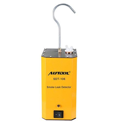 Autool Leckage-Suchgerät, Rohrleitungssysteme/Motorrad / PKW/SUV / LKW-Rauchdichtigkeitsprüfgerät (Yellow)