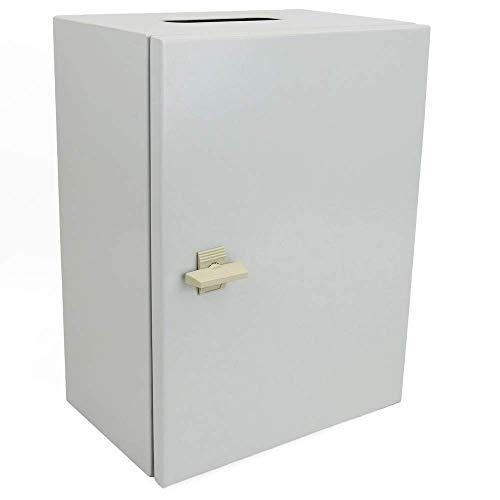 potente para casa BeMatik – Caja de conexiones de metal IP65 para montaje en pared …