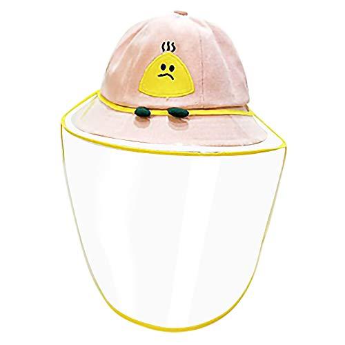 JuSeOne Sombreros y Gorras para Bebés, Anti-Mosquito Summer Beach UPF 50 Protección solar Sombrero de pescador para bebés con cubierta transparente Sombreros...