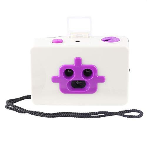 Freak Scene 3 Lentes - cámara de Fotos analógica de 35 mm - Robot - Blanco-naran