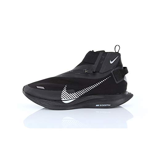 Nike Zoom Pegasus Turbo Shield Wp Bq1896-001 para hombre, Negro (Negro/Metálico Plateado-Negro), 43.5 EU