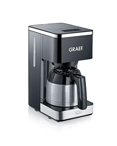 Graef FK412EU Filterkaffeemaschine, 900, schwarz