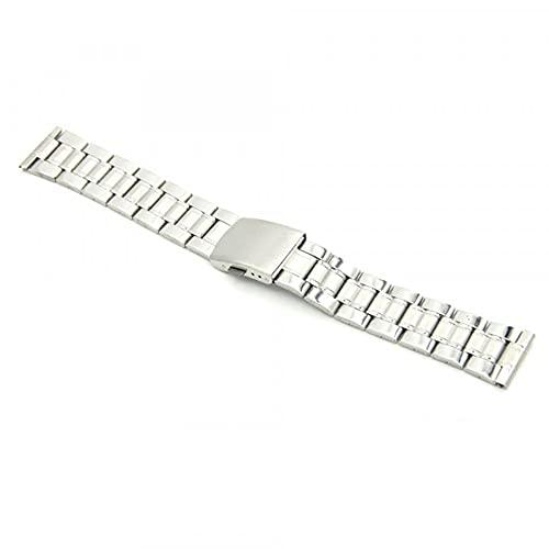 My-Reloj de pulsera, diseño de reloj, color plateado, talla: 20 mm color Pulsera: plata-Contenido: 1-Pulsera talla: 20 mm