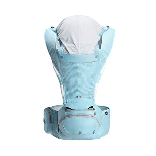 Porte-bébé Multifonction Bébé Respirant Assis sur la Taille Tabouret Amovible et indépendant pour l'été ( Color : C )