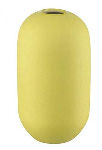Jarrón, cerámica, Amarillo,