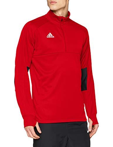 adidas Condivo 18 Training Top Multisport, Felpa Uomo, Power Red/Black/White, XL