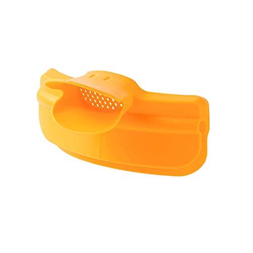 YUACY Filtro de embudo para el hogar de gran calibre embudo separador de plástico para repostar artefacto de aceite, se adapta a todos los cuencos, fideos, frutas para ollas de cocina Gadget