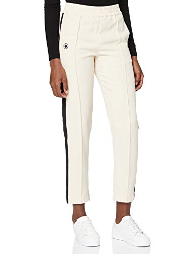 Scotch & Soda Maison Womens Sportliche Webhose Pants, 0003 Ecru, M