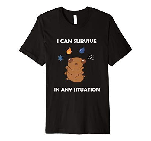 Funny Wasser Bär Bärtierchen Überleben jeder Situation T-Shirt