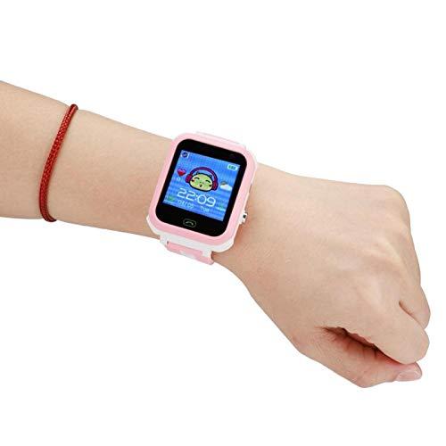 Tomanbery Pulsera Inteligente Monitor de sueño Reloj Despertador Reloj Inteligente Sensor de Gravedad LBS Posicionamiento Podómetro Pantalla táctil para niños para niñas