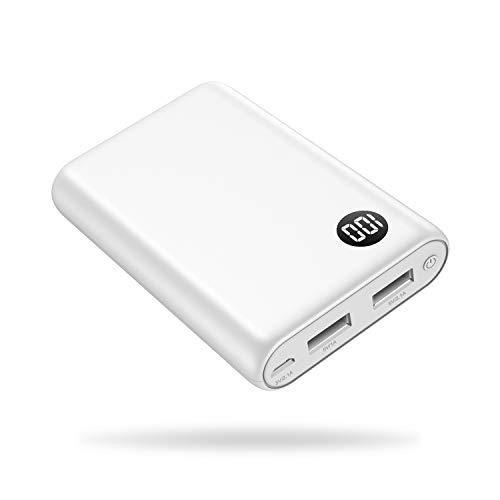 bon comparatif petite batterie externe kilponen 13800mAh, bloc d'alimentation compact 2 ports USB Sortie LCD… un avis de 2021