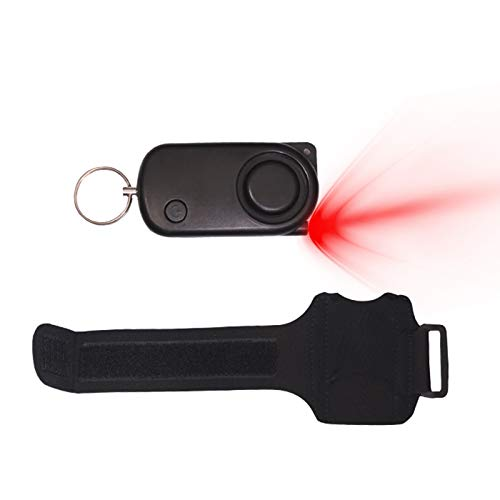 DFVVR keychain with 120dB LED light, suitable for self-defense emergency situations, Tools & Home Improvement for Home & Garden, Nice Gift (B)